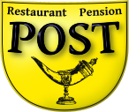 Restaurant Pension -Post- Logo